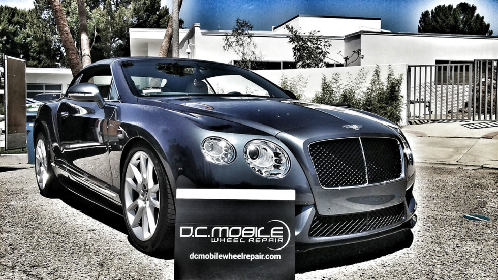 Wheel Repair – Bentley Continental GT Covertible