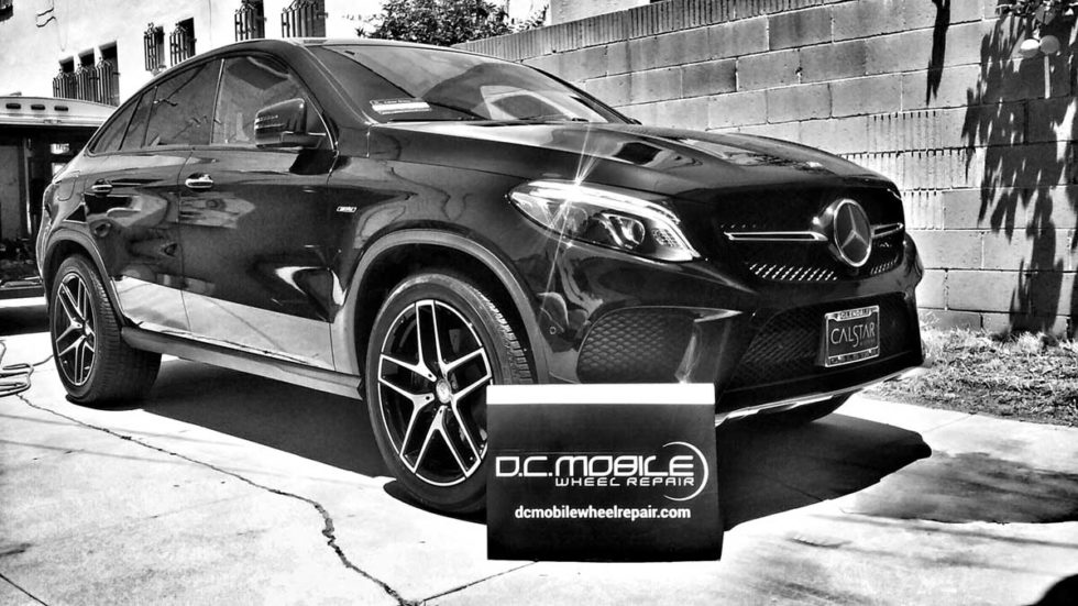 Wheel Repair – Mercedes GLE Coupe