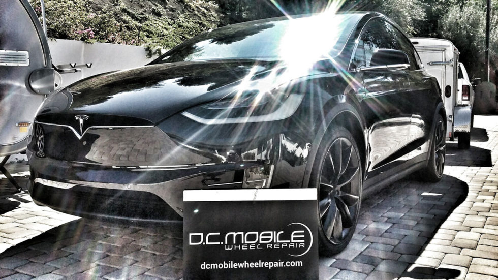 Wheel Repair – Tesla Model X