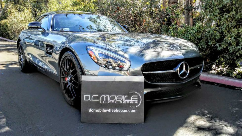 Wheel Repair – Mercedes AMG GTS